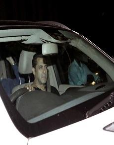 tubelight: सलमान की कार में थीं प्रीति जिंटा वहीं गर्लफ्रेंड यूलिया दूसरी कार से पहुंची