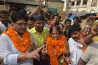 NDA की जीत: पटना की पहली महिला मेयर बनीं सीता साहू, देखें तस्वीरें...