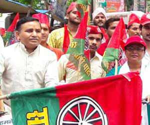 तस्वीरों में देखें-समाजवादी पार्टी का अंतर्राष्ट्रीय योग दिवस