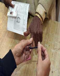 पंजाब में हुई 74 प्रतिशत वोटिंग,  देखें तस्वीरें