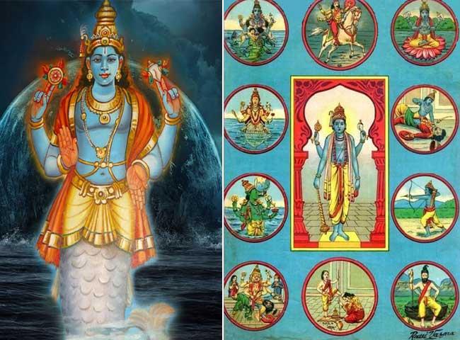 तस्वीरों द्वारा जानें, कौन से हैं भगवान विष्णु के 10 अवतार