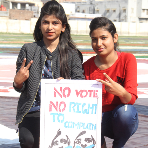 Vote for strong democracy