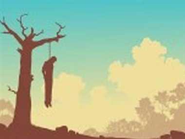 पत्नी के गम में मौत को लगा लिया गले
