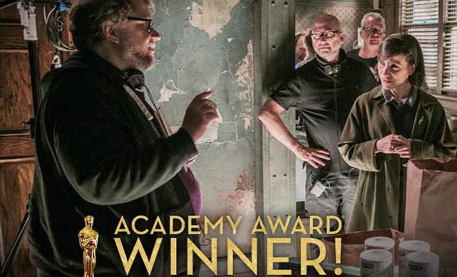 oscar award 2018,oscars,best film,the shape of water,guillermo del toro,hollywood,oscar 2018,awards,prizes,hollywood