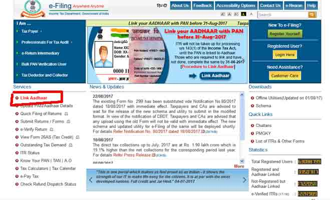 aadhaar pan linking,linking aadhaar card with pan,benami transactions,invalid pan,supreme court