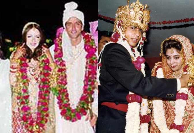 शाहरुख की शाही और अक्षय की सिंपल शादी, बॉलीवुड में शादियों की ये तस्वीरें नहीं देखी होंगी आपने