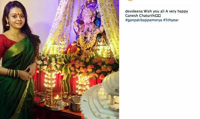 ganpati 2017,ganpati celebration,ganesh chindian television celebrities,tv celebrities,ganesh chaturthi,