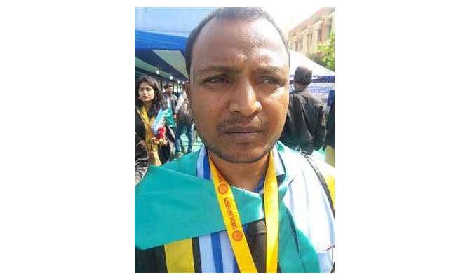 गजब! बकरी चराकर की पढ़ाई, जीता डॉ एलपी विद्यार्थी गोल्ड मेडल