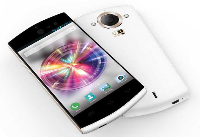 माइक्रोमैक्स ने लांच किया 13 मेगापिक्सल के तीन कैमरों वाला स्मार्टफोन