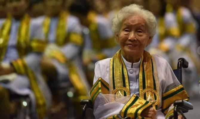 91 साल की उम्र में ग्रेजुएट हुईं ये 'दादी'