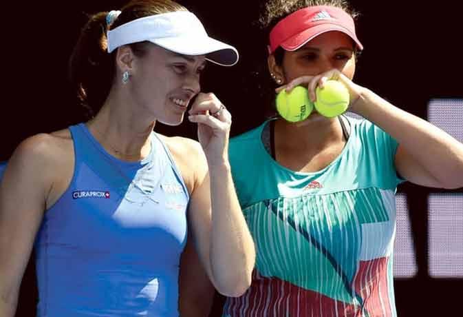 मैड्रिड मास्टर्स टेनिस टूर्नामेंट के फाइनल में सानिया-हिंगिस को करना पड़ा हार का सामना