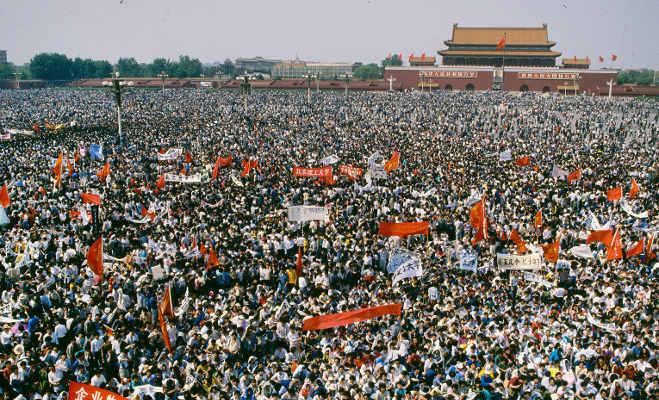 28 साल बाद ब्रिटेन ने सार्वजनिक किए दस्तावेज,चीन में 10 हजार लोकतंत्र समर्थकों को टैंक से कुचला