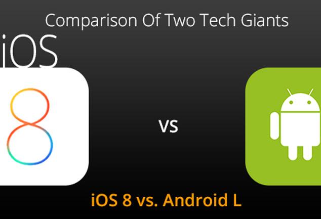 Android 5.0 VS Apple iOS 8 : जानें कौन सा ओएस है बेहतर
