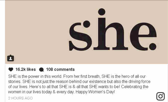 international womens day,bollywood celebrities wish,womens day,womens day 2018,wonder women,happy womens day,swachh shakti,bollywood womens day