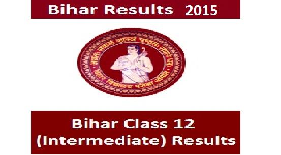 bihar intermediate result 2015 bseb 12th science result