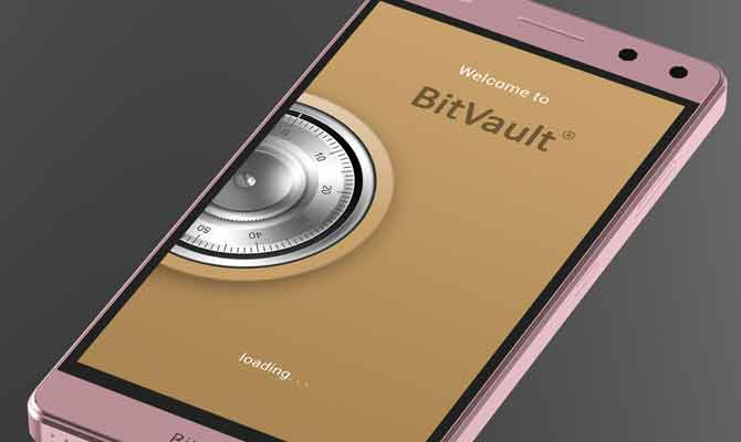 tech news in hindi,bitvault,bitvault phone,bitvault in india,bitvault phone in india,the world first blockchain phone,blockchain,blockchain network,gadget news,new phone launch