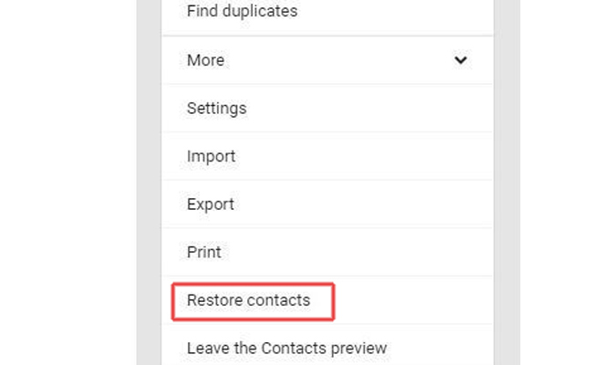 tech news, google contacts, lost google contacts, restore google contacts, three steps restore google contacts