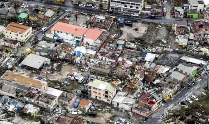 तस्वीरों में इरमा तूफान की तबाही का मंजर