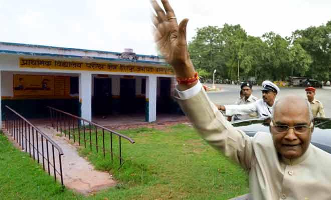 मीलों पैदल चलकर क ख ग.. सीखने जाते थे रामनाथ कोविंद!