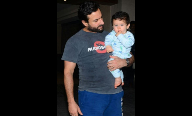 saif ali khan,taimur,first walk,kaalakaandi,promotional event