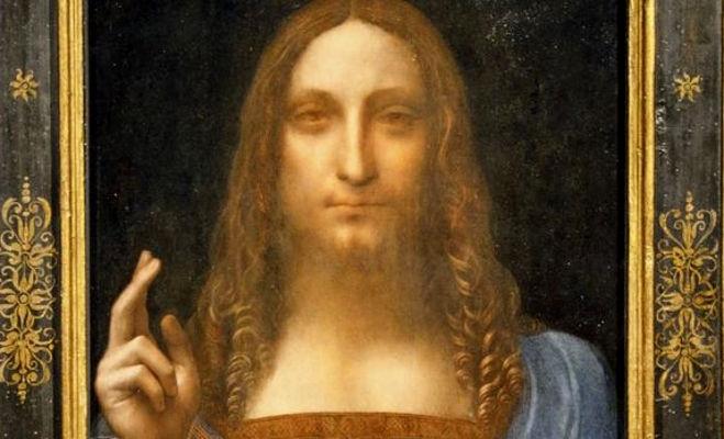 leonardo da vinci,salvator mundi,450 million dollar painting,lauvre abu dhabi museum,abu dhabi