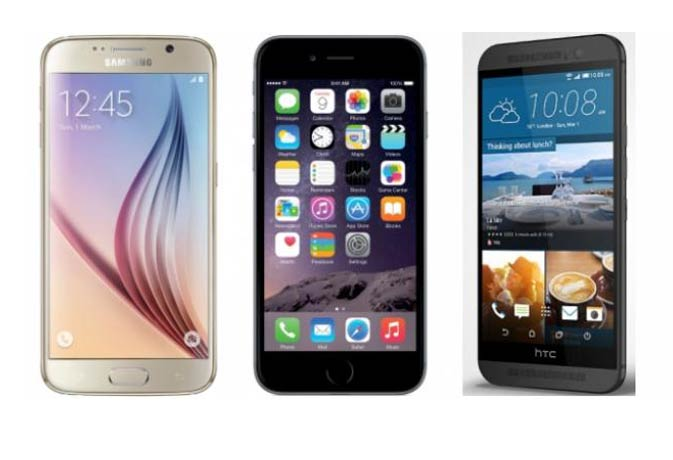 सैमसंग, एप्पल और एचटीसी में छिड़ी जंग, जानें कौन किससे है बेहतर