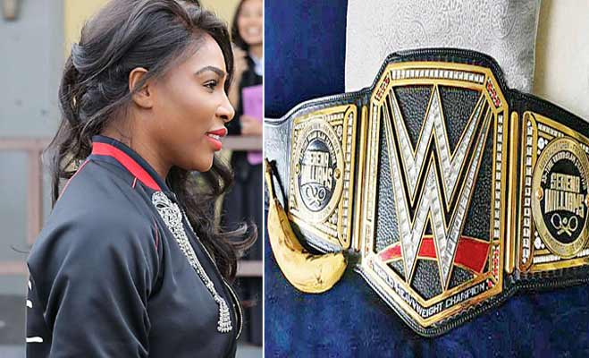 serena williams,tennis player,wrestlemania 2017,wrestlemania 33,former world no 1 tennis player,world wrestling entertainment,wwe,wrestlemania,charlotte flair