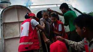Bodies wash up as boat carrying Rohingya fleeing Myanmar capsizes