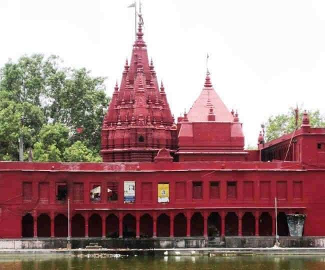 Image result for दुर्गा मंदिर varanasi