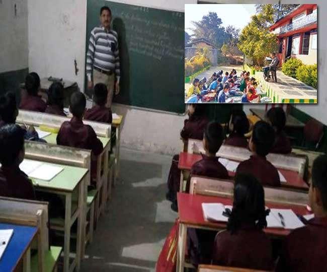 छत्तीसगढ़ का ये सरकारी स्कूल बना मिसाल, कभी झोपड़ी से हुई थी शुरुआत