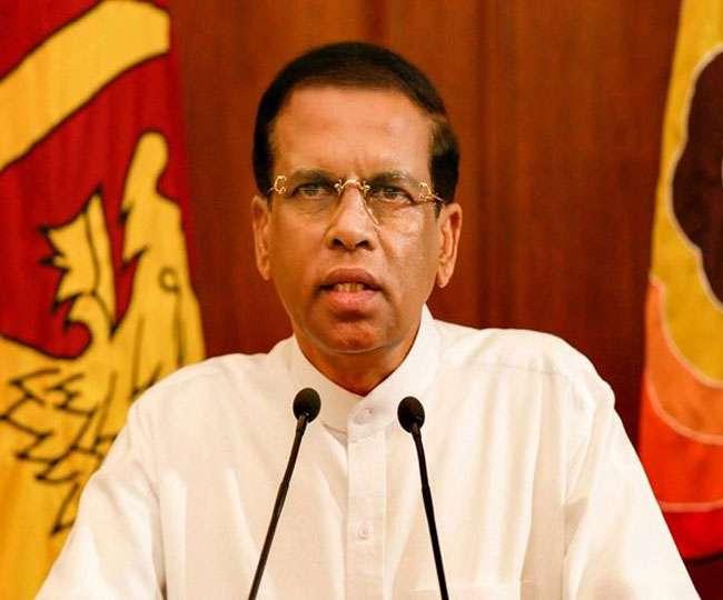 Image result for राष्ट्रपति मैत्रीपाल सिरिसेन ने संसद को कियाखत्म