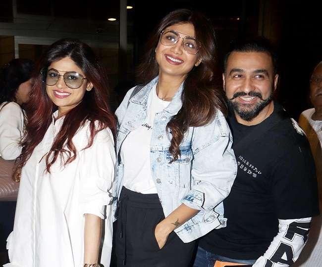 Shilpa Shetty and Raj Kundra says Happy birthday to Shamita Shetty in style