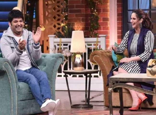 Kapil Sharma And Sania mirza