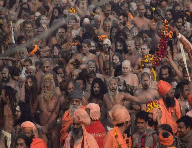 मौनी अमावस्या: कुंभनगर के संगम पर 'जनसमुद्र', तीन बजे तक 3.25 करोड़ श्रद्धालुओं ने लगाई डुबकी