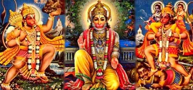 Many of these formats is to worship Lord Hanuman wishes fulfilled