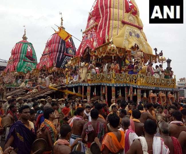 आज पुरी में निकलेगी भगवान जगन्नाथ की भव्य रथ यात्रा, जगन्नाथ पुरी में पारंपरिक समारोह शुरू