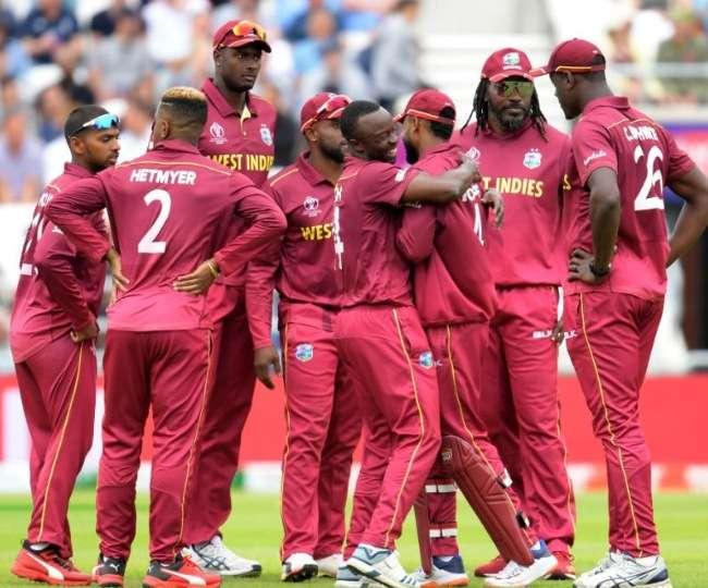 जीत के बाद वेस्टइंडीज टीम, फोटो सोर्स: गूगल