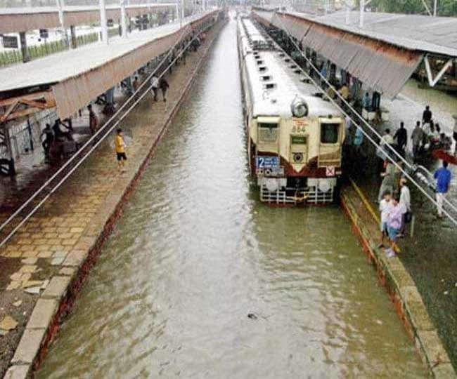Mumbai rains LIVE UPDATES: Local trains on Western, Central Railways crippled