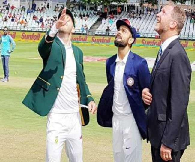 केपटाउन टेस्ट: दक्षिण अफ्रीका ने जीता टॉस, पहले बैटिंग का लिया फैसला