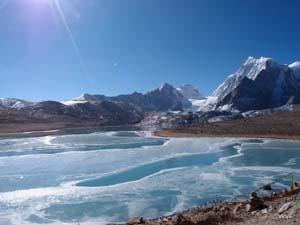 Image result for गुरूडोंगमर झील