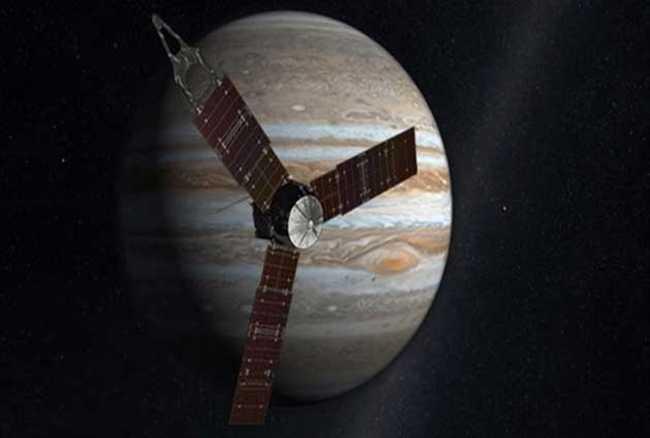 La nave espacial Juno de la NASA entrará en Júpiter después de cinco años de viaje