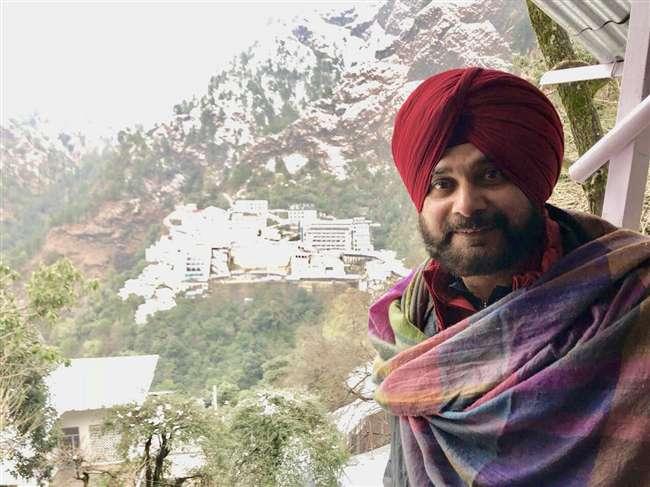 पंजाब सरकार में केबिनेट मंत्री नवजोत सिंह सिद्धू मां वैष्णो की भक्ति में हैं लीन Jammu News