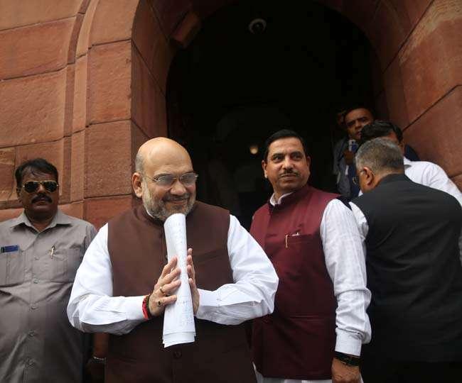 Parliament LIVE: जम्मू-कश्मीर और लद्दाख दो अलग-अलग केंद्र शासित प्रदेश होंगे, बदलाव को राष्ट्रपति की मंजूरी