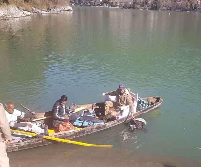 नैनी झील में मिला युवक का शव, आत्महत्या की आशंका
