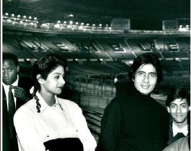 Amitabh Bachchan, Sridevi, Salman Khan And Aamir khan