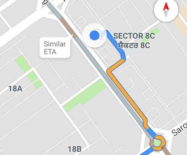 Image result for ड्राइविंग के दौरान न करें गूगल मैप का इस्तेमाल, कट सकता है आपका चालान..