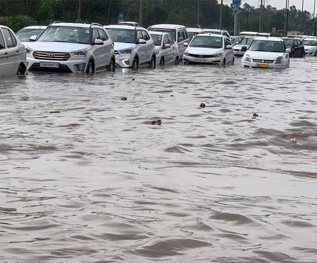 Weather Updates Rainfall in many cities of Punjab and