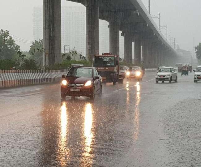 weather update raining in delhi