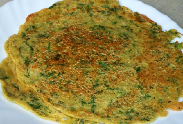 Image result for palak chilla