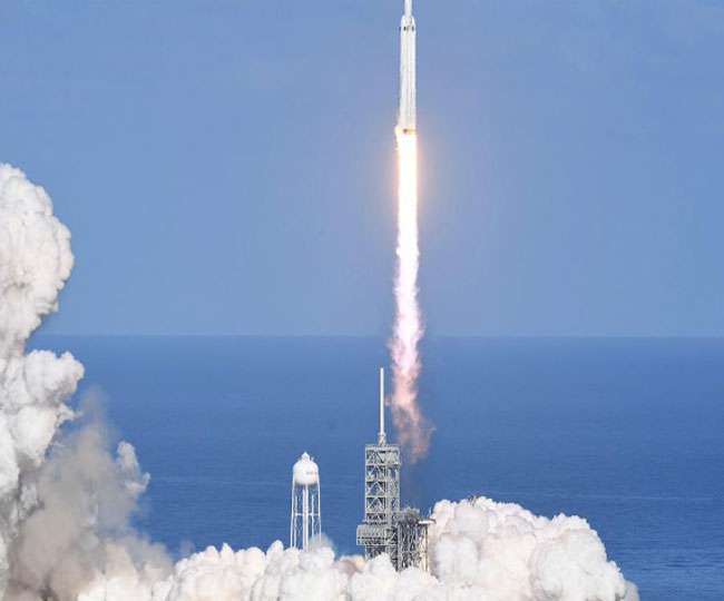 अंतरिक्ष में भेजा गया दुनिया का सबसे ताकतवर रॉकेट, मकसद है बेहद खास